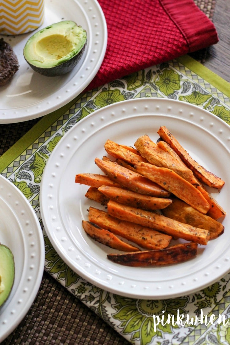 Healthy Sweet Potato Fries  Sweet Potato Fries Healthy and Paleo PinkWhen