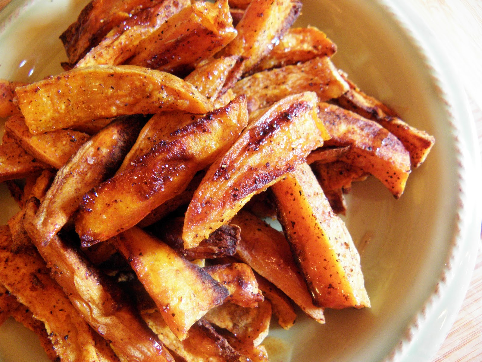 Healthy Sweet Potato Fries  Healthy Spiced Sweet Potato Fries Inspired by Family