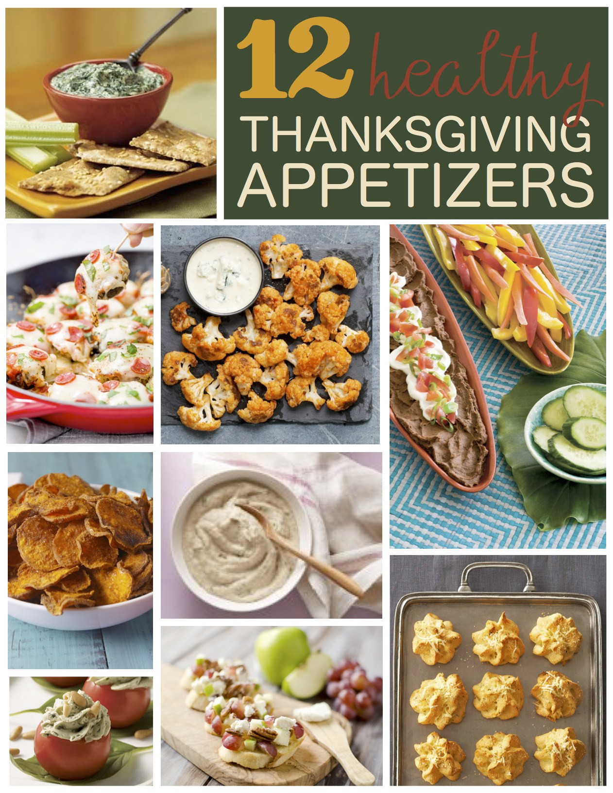 Healthy Thanksgiving Appetizers  12 Healthy Thanksgiving Appetizer Recipes Six Clever Sisters