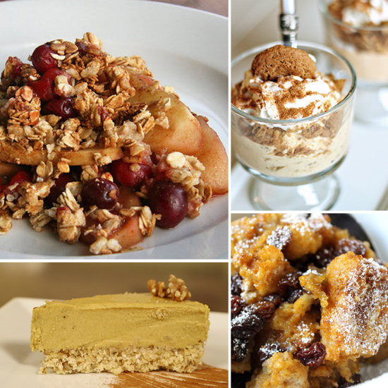 Healthy Thanksgiving Desserts  Recipe Ideas Thanksgiving Dessert Recipe Ideas