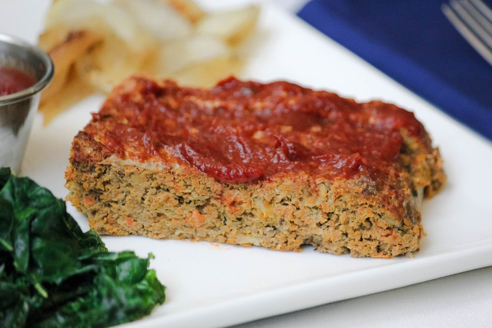 Healthy Turkey Meatloaf  Healthy Turkey Meatloaf Recipe with LOTS of Hidden Ve ables