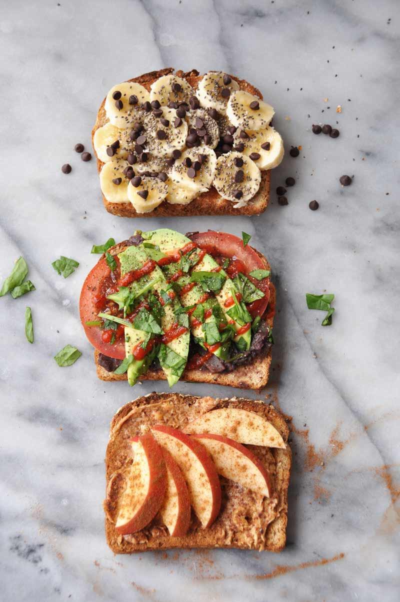 Healthy Vegetarian Breakfast Recipes  Simple Healthy Vegan Breakfast Toast that isn t Boring