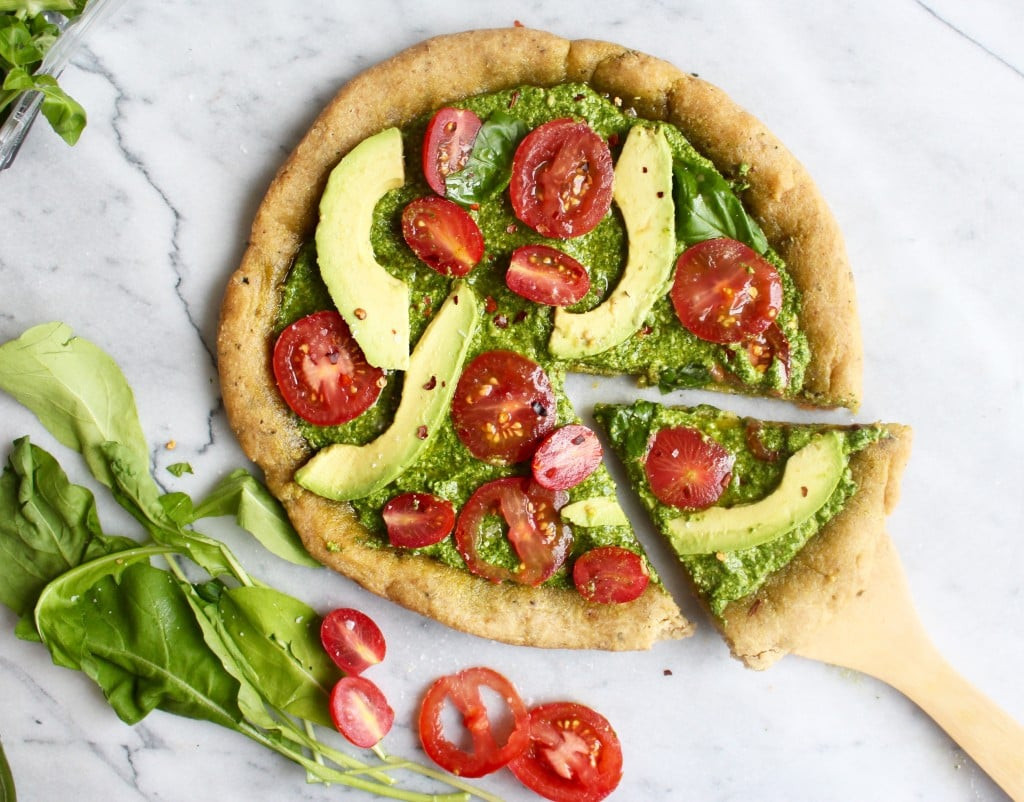 Healthy Vegetarian Snacks  Healthy Vegan Pizza Recipe
