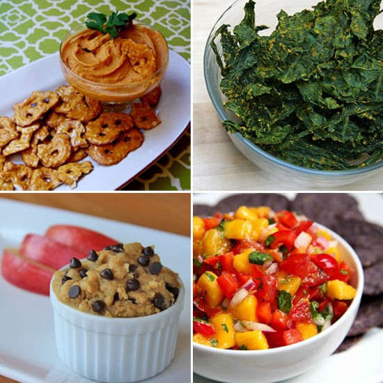 Healthy Vegetarian Snacks  Vegan Snack Recipes