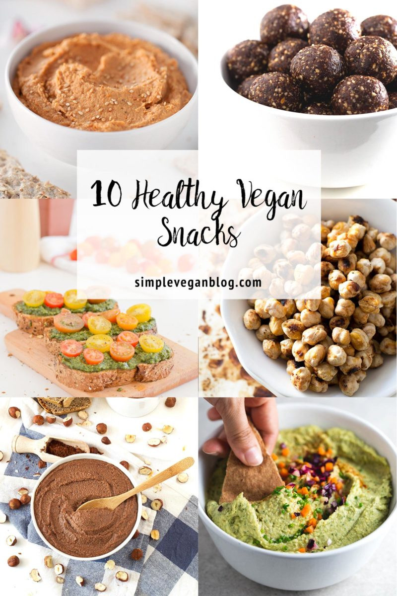 Healthy Vegetarian Snacks  10 Healthy Vegan Snacks