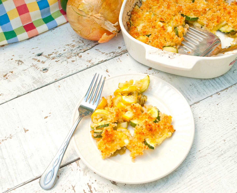 Healthy Zucchini Casserole  Zucchini And Squash Casserole Healthy