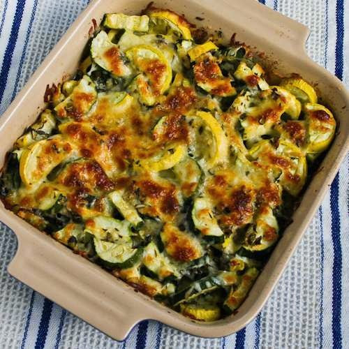 Healthy Zucchini Casserole  Kalyn s Kitchen 20 Deliciously Healthy Low Carb