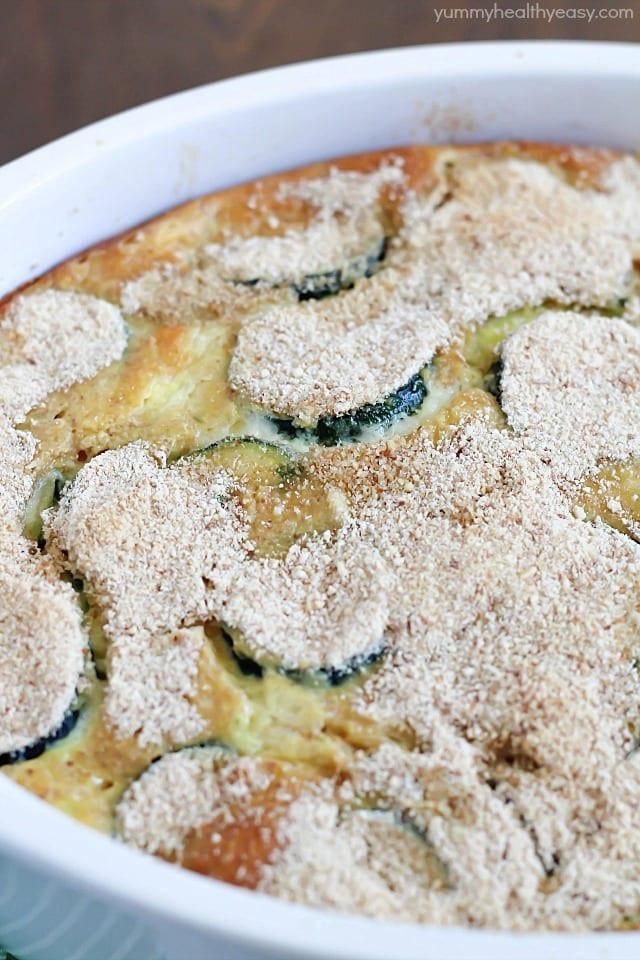Healthy Zucchini Casserole  Zucchini Casserole Yummy Healthy Easy