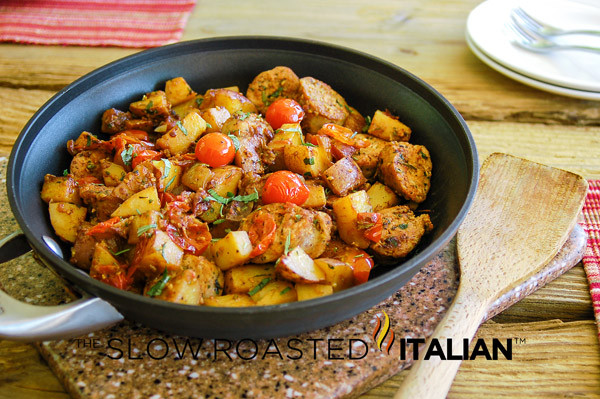 Hearty Dinner Ideas  Easy e Skillet Meal Hearty Italian Sausage and Potatoes