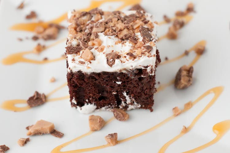 Heath Bar Dessert  Heavenly Heath Bar Cake