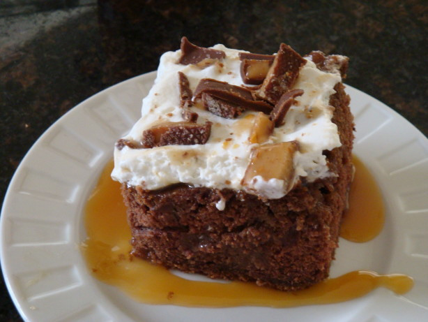 Heath Bar Dessert  Heath Bar Cake Recipe Food