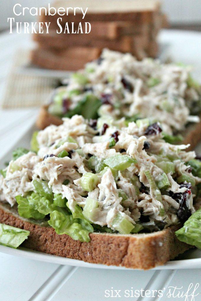 Heb Thanksgiving Dinner 2016  Cranberry Turkey Salad
