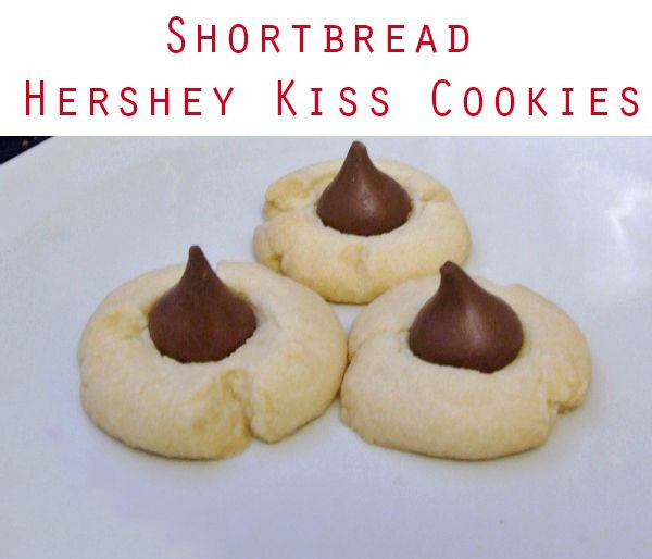 Hershey Kiss Cookies Without Peanut Butter  Shortbread Hershey Kiss Cookies Recipe
