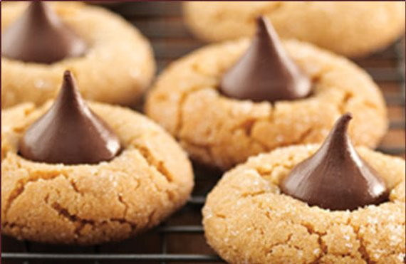 Hershey Kiss Cookies Without Peanut Butter  Items similar to Peanut Butter Kiss Cookies 1 dozen on Etsy