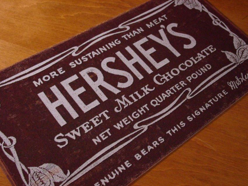 Hershey'S Chocolate Cake  Antique Hershey s Chocolate Hershey Bar Collectible NEW