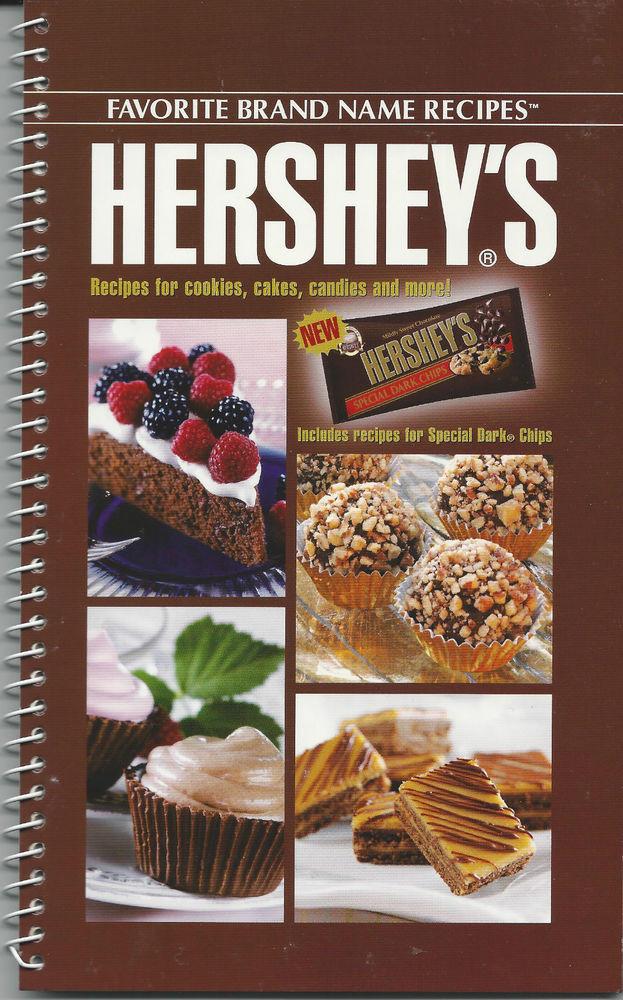 Hershey'S Chocolate Cake  HERSHEY S Cookbook NEW Chocolate RECIPES Cookies CANDY