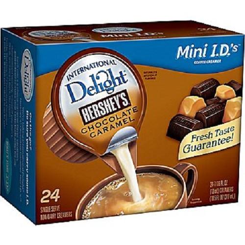 Hershey'S Chocolate Cake  International Delight Hershey s Chocolate Caramel Creamer