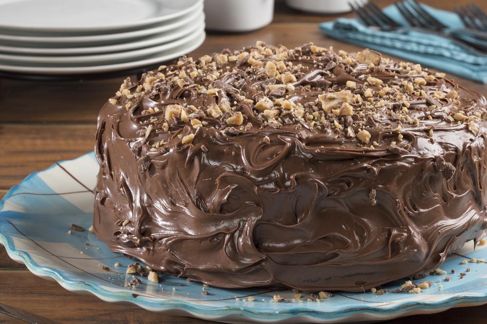Hershey'S Perfectly Chocolate Cake  Easy Perfect Chocolate Cake