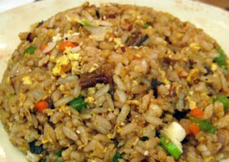 Hibachi Fried Rice  hibachi style fried rice with ginger sauce Recipe by gina