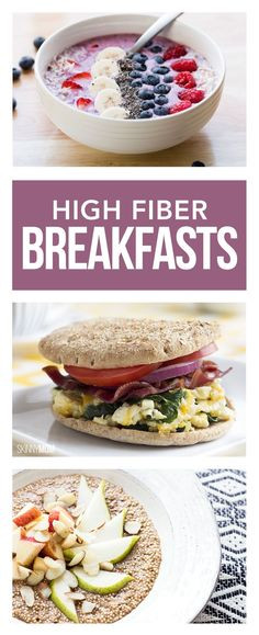 High Fiber Dinners  1000 images about Recipes Breakfast on Pinterest