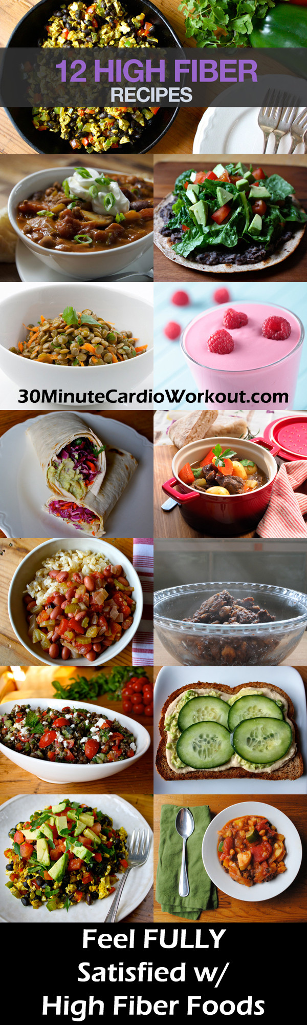 High Fiber Recipes For Weight Loss  12 High Fiber Recipes You ll Love EAT MORE & LOSE WEIGHT