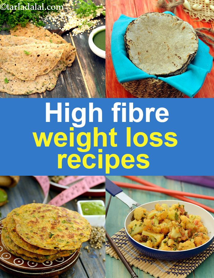 High Fiber Recipes For Weight Loss  Fibre rich foods for weight loss
