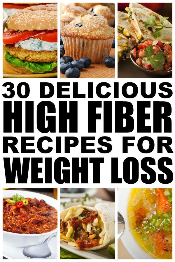 High Fiber Recipes For Weight Loss  high fiber dinner