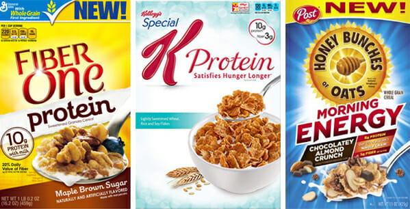 High Fibre Breakfast Cereals  Fit Series Grocery Store Favorites