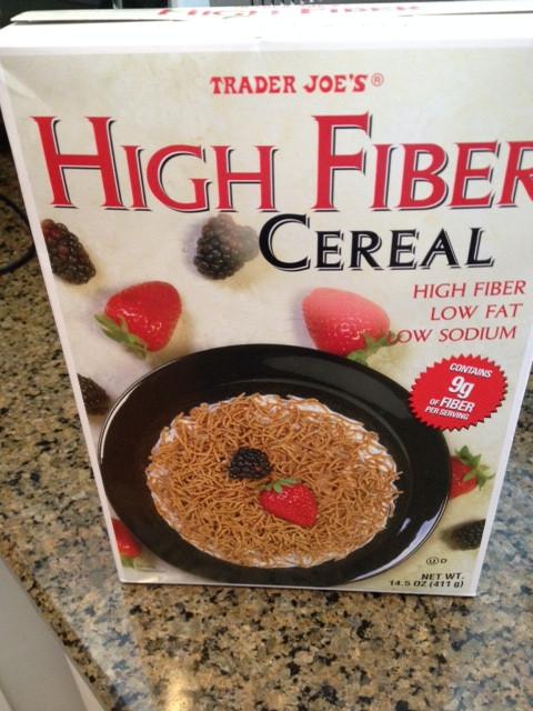 High Fibre Breakfast Cereals  Breakfast cereals have too much sugar – The No Salt No