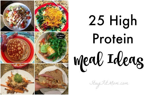 High Protein Dinner  25 Easy High Protein Meal Ideas Stay Fit Mom