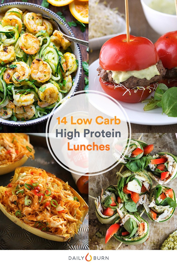High Protein Low Carb Snacks Recipes  14 High Protein Low Carb Recipes to Make Lunch Better