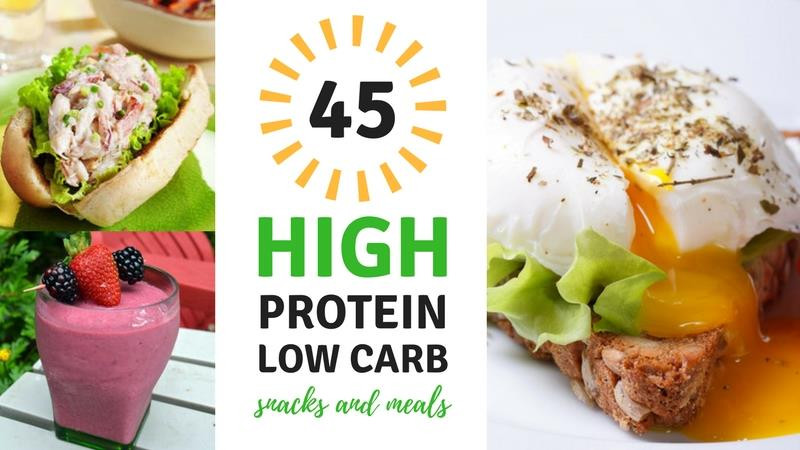 High Protein Low Carb Snacks Recipes  45 High Protein Low Carb Snacks and Meals Best Weight