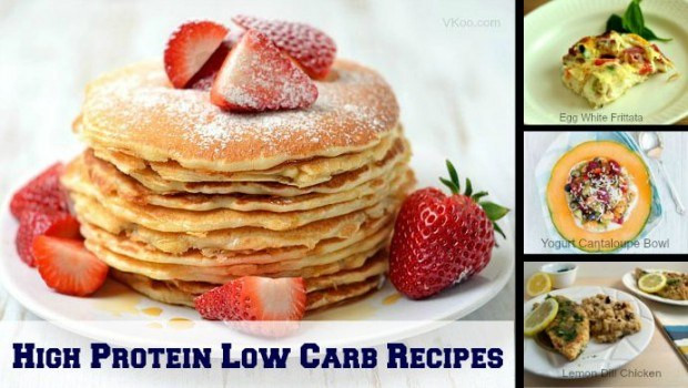 High Protein Low Carb Snacks Recipes  High protein low carb recipes 8 easy and healthy dishes