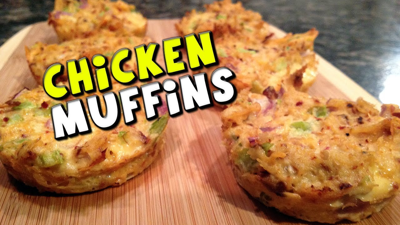 High Protein Low Carb Snacks Recipes  Chicken Muffins Recipe Low Carb High Protein