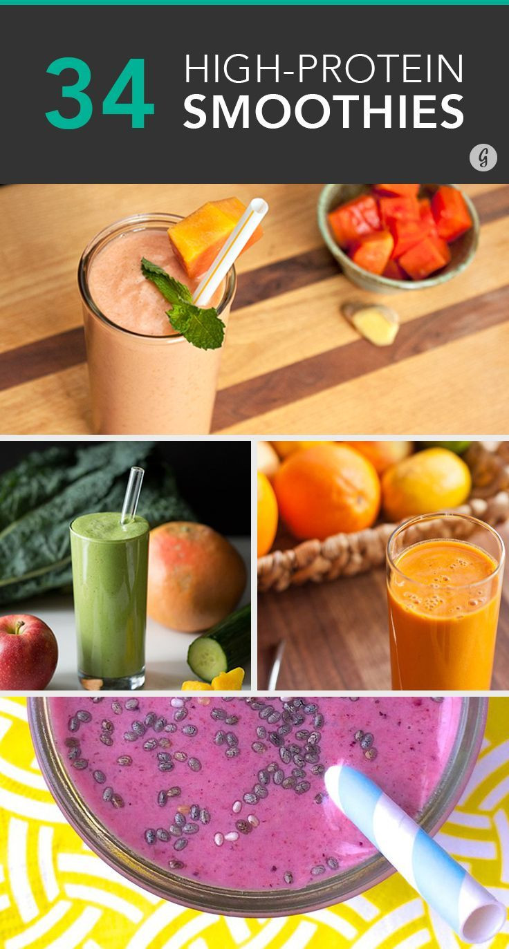 High Protein Smoothie Recipes  34 Surprisingly Delicious High Protein Smoothie Recipes