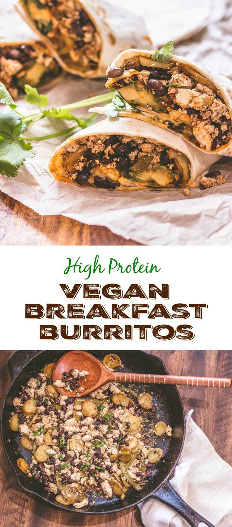High Protein Vegan Recipes  High Protein Vegan Breakfast Burritos Beyond Mere Sustenance
