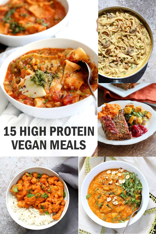 High Protein Vegan Recipes  15 High Protein Vegan Meals Vegan Richa