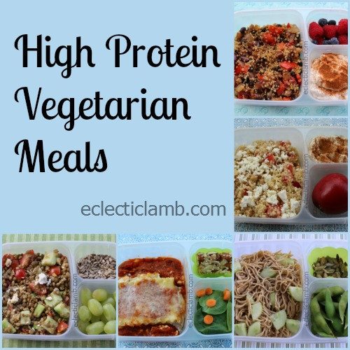 High Protein Vegetarian Meals  5 High Protein Ve arian Meals