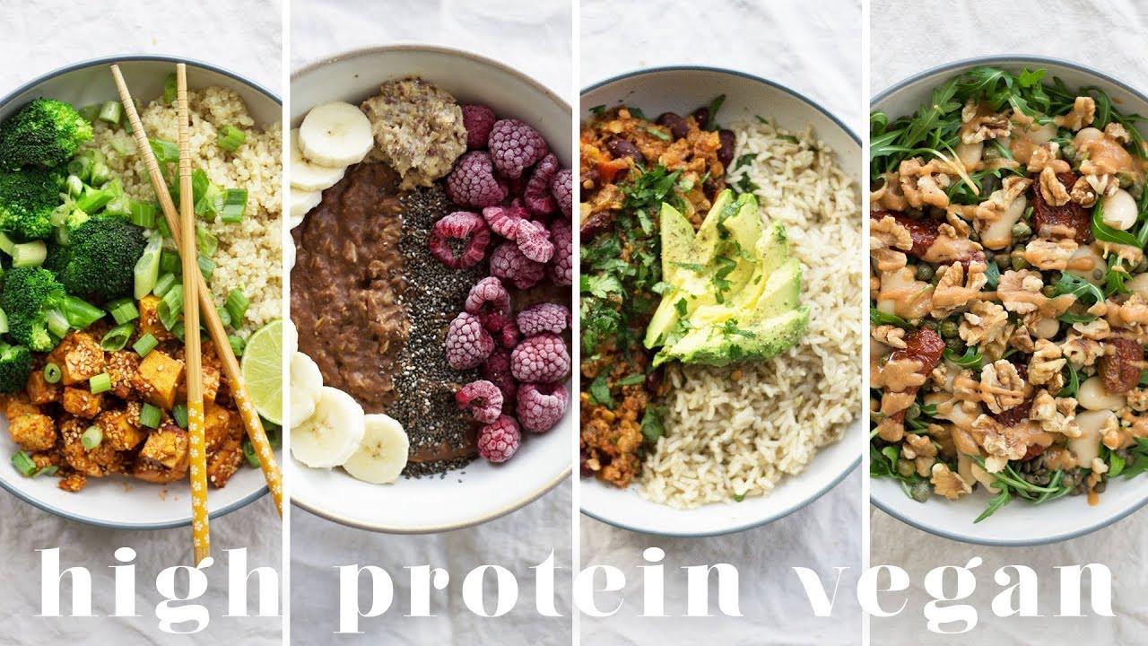High Protein Vegetarian Meals  HIGH PROTEIN VEGAN MEALS