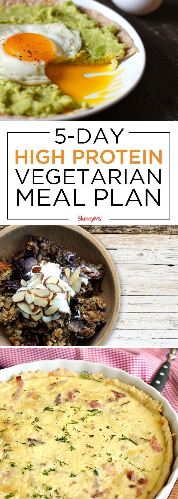 High Protein Vegetarian Meals  Best 25 High protein ve arian foods ideas on Pinterest