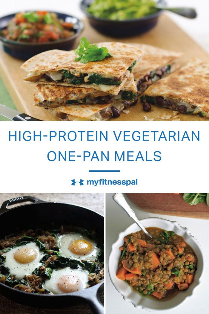 High Protein Vegetarian Meals  7 High Protein Meatless e Pan Meals