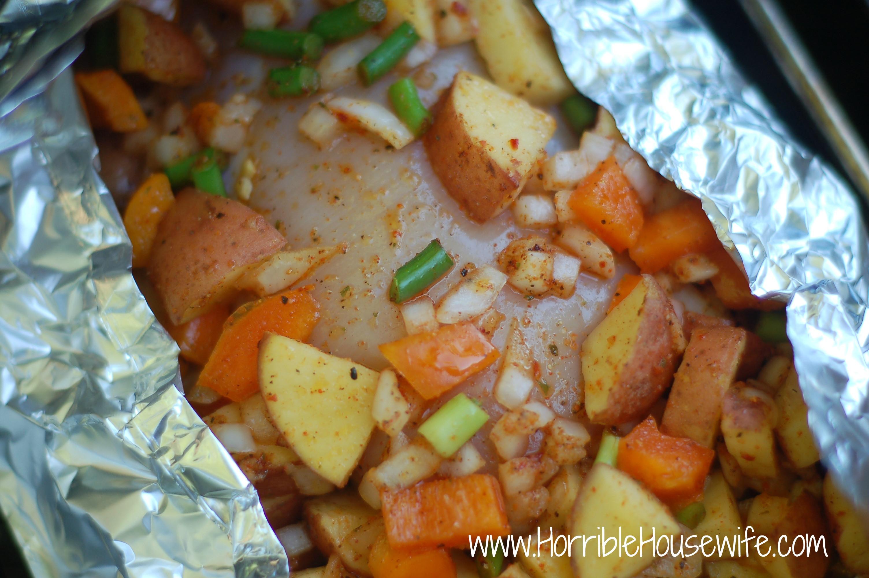 Hobo Dinner On Grill  Grilled Chicken Hobo Dinner Recipe