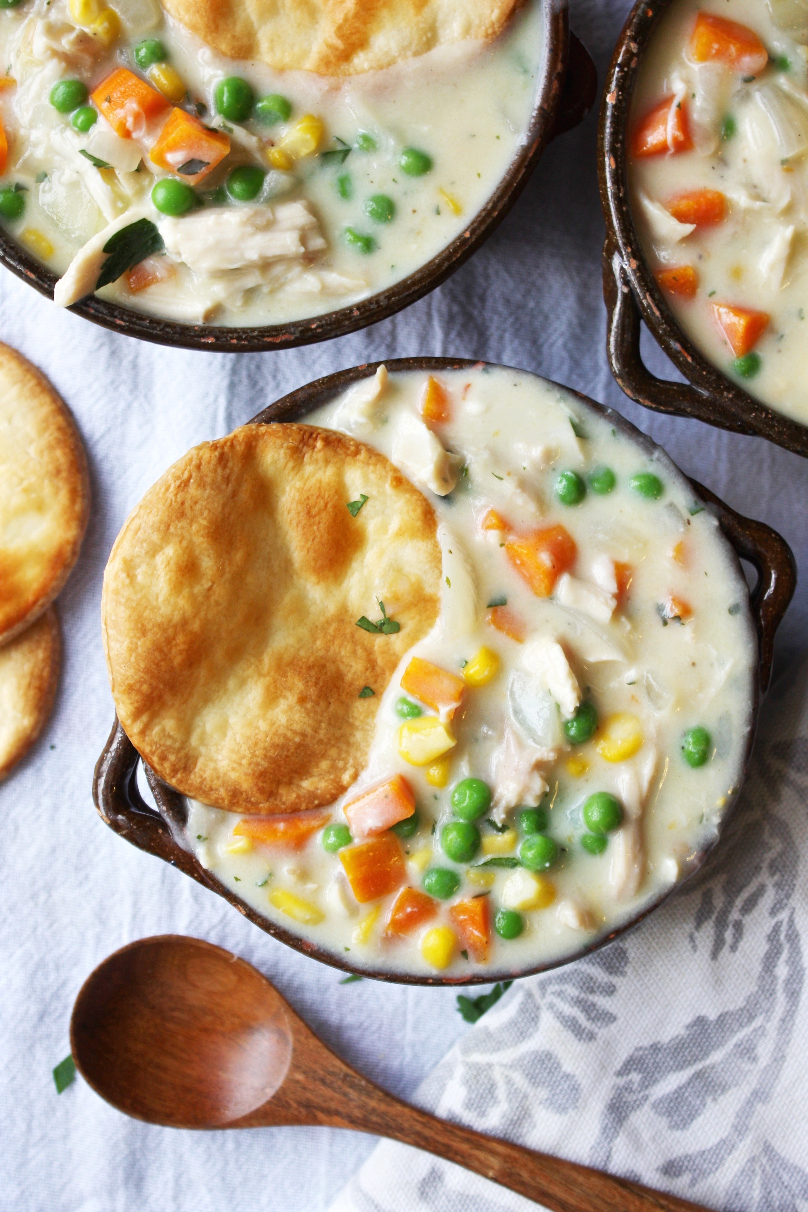 Home Made Chicken Pot Pie  Easy Chicken Pot Pie Soup Soup Sunday