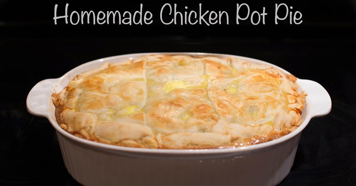 Home Made Chicken Pot Pie  Hot Eats and Cool Reads Homemade Chicken Pot Pie Recipe
