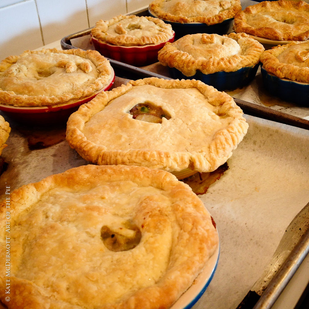 Home Made Chicken Pot Pie  Homemade Chicken Pot Pie Art of the Pie