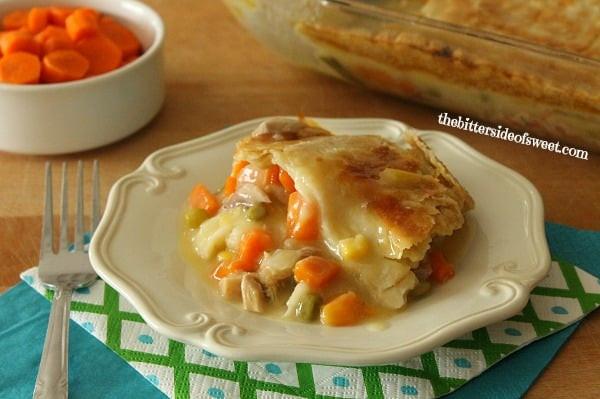 Home Made Chicken Pot Pie  Homemade Chicken Pot Pie theBitterSideofSweet
