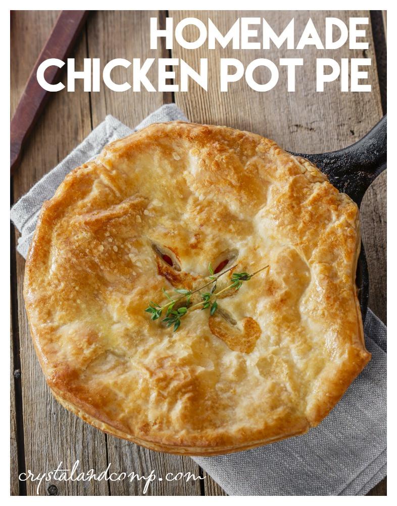 Home Made Chicken Pot Pie  Easy Chicken Pot Pie