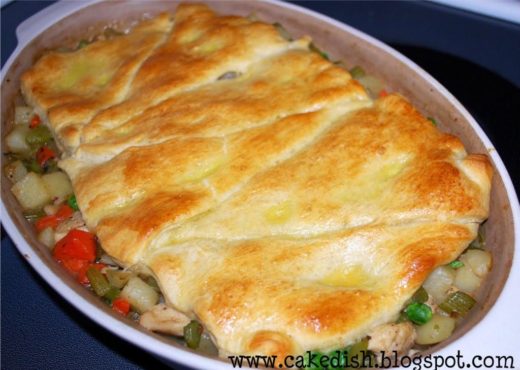 Home Made Chicken Pot Pie  homemade chicken pot pie recipe