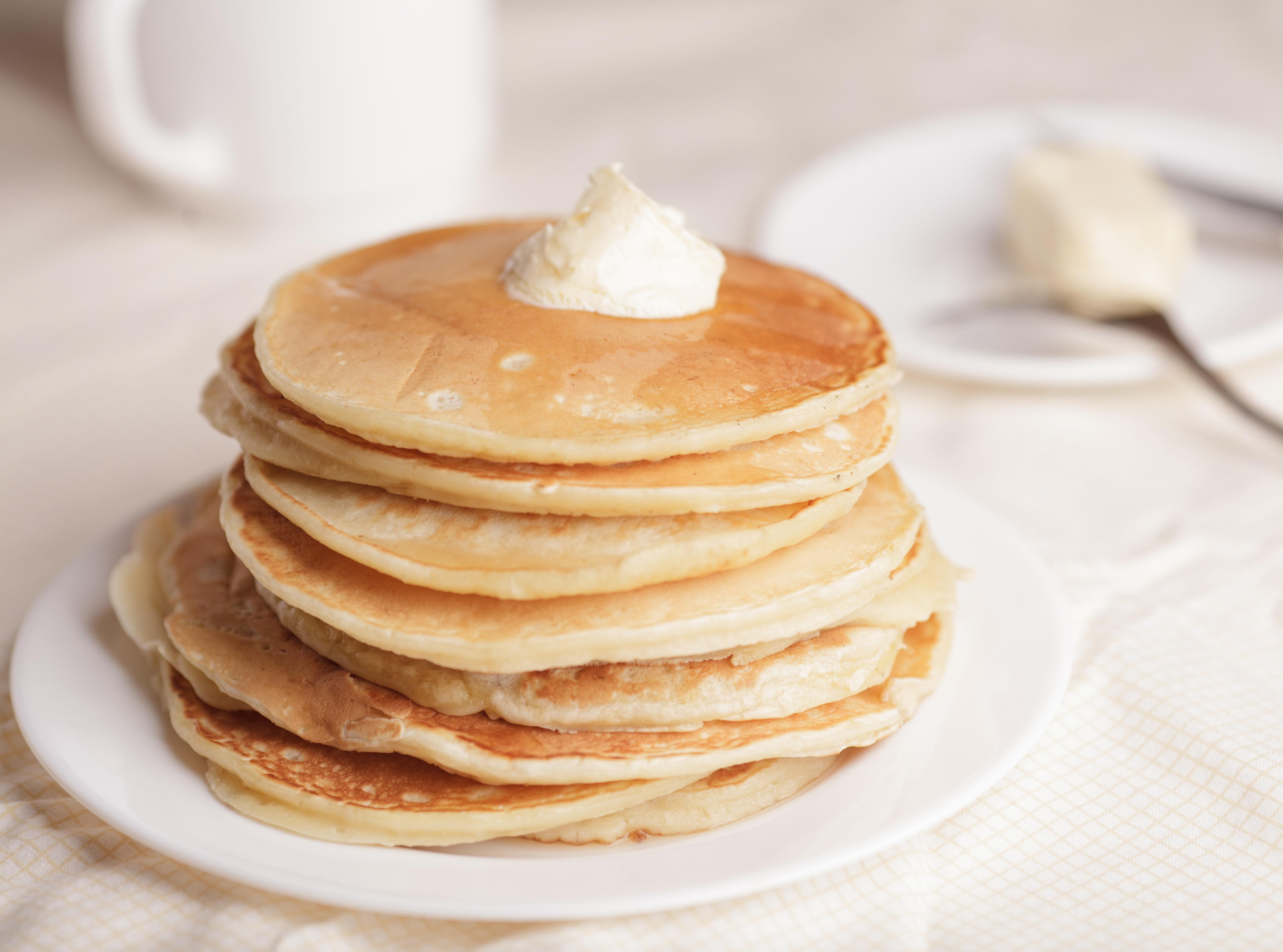 Home Made Pancakes  Fluffy Homemade Pancakes BigOven