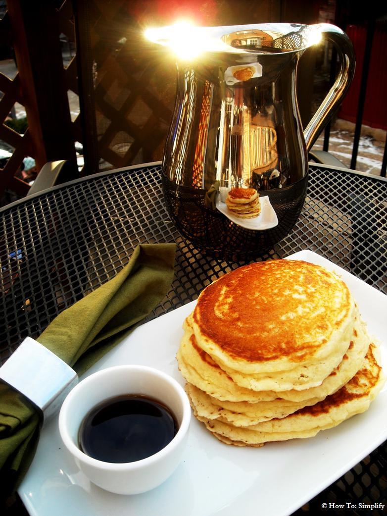 Home Made Pancakes  Easy Homemade Pancakes
